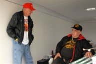 Bob 'Bones' Balogh and Chuck Finders 2007