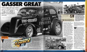 Chuck Finders Feature Article National Dragster Readers Choice 2012